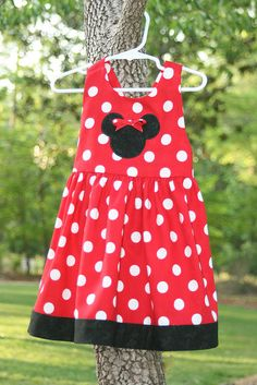 Minnie Mouse dress McCall's pattern - I like this one
