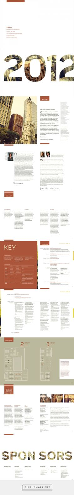 2012 Annual Conference Program Book on Behance... - a grouped images picture - Pin Them All
