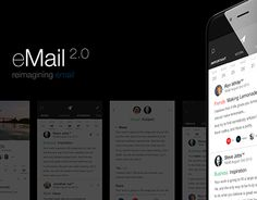 "Check out new work on my @Behance portfolio: ""eMail 2.0 App Concept"" http://on.be.net/1JI2kUv"