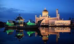 کریٹیو کامنز فوٹو Brunai Darasalam mosque