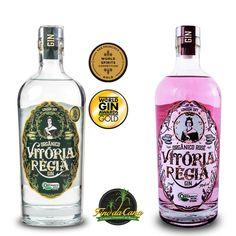 Kit Gin Vitória Régia O Gin, London Dry Gin, Spirit World, Vodka Bottle, Gourmet, Father's Day, Bottles, Stuff Stuff