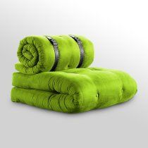 Buckle Up Sleeper Chair with Black Belt - Lime $290