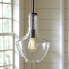 Birch Lane Sutton Pendant - Only large seeded glass is available
