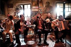 The 4TH WARD AFRO-KLEZMER ORCHESTRA and the PANORAMA JAZZ BAND