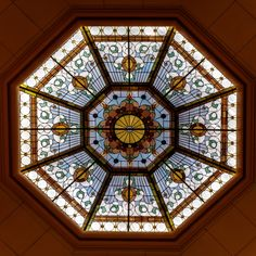 All sizes | Stained Glass_dome | Flickr - Photo Sharing!