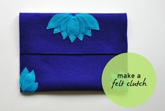 Цветы из ткани,фетра (идеи, МК, выкройки... много!).