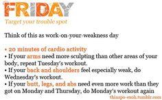 .weakness day.