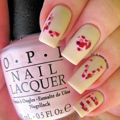 It's all about the polish: L-O-V-E Valentine's Day Nail Art
