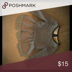 Selling this Cute peplum top on Poshmark! My username is: jessicakpck. #shopmycloset #poshmark #fashion #shopping #style #forsale #Nicole Miller #Other