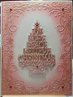 Made with Sue Wilson dies Christmas Cards 2018, Homemade Christmas Cards, Xmas Cards, Handmade Christmas, Holiday Cards, Christmas Trees, Card Making Inspiration, Making Ideas, Silhouette Cameo Cards