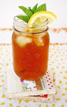 Culinary Word of the Day: Sweet Tea Vodka and Lemonade  Going to Happy Hour tonight? Stop by Blake Street Vault and get their Sweet Tea Vodka and Lemonade. This is a perfect summertime cocktail. Because it's a combination of iced tea, lemonade, and alcohol.