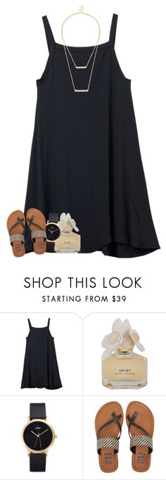 """""""Ephesians 4:6"""" by oliviajordyn ❤ liked on Polyvore featuring RVCA, Marc by Marc Jacobs, CLUSE, Billabong and Sole Society"""