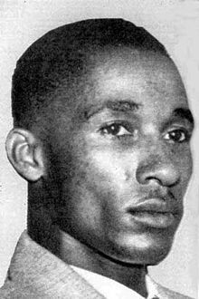 On December 12, 1938 the U.S. Supreme Court decided 6-2 in favor of Lloyd Gaines (shown above) in Gaines v. Canada, in which Gaines was suing for admittance to the University of Missouri Law School. However, he disappeared the following spring before the case could be retried in state court. Opinion was divided whether he was murdered or wished to avoid the publicity the case had received. In 2006 the school awarded him an honorary law degree. #TodayInBlackHistory