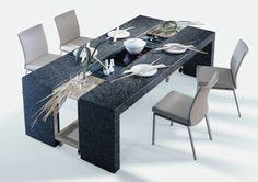 Mesa de comedor extensible de Draenert