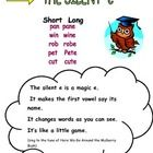 Use this song to help students remember the power of silent e....
