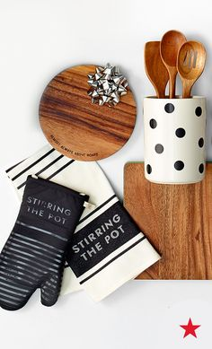 Shopping for a cooking enthusiast? We've got just the thing: chic kitchen essentials from the kate spade new york home collection!