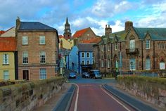 In Berwick Upon Tweed...you will never be short of a place to get your hair done, scoff fabulous crab sandwiches, feel the wind in your sales and dip your toe in the sea x