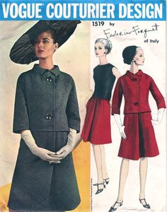 Vogue 1519 - Vintage Sewing Patterns