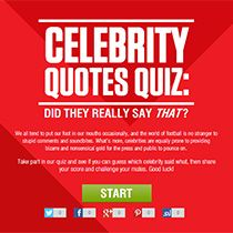 """""""Did They Really Say That"""" 
