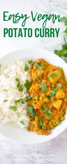 Looking for an easy potato curry recipe? Try this one out! Just a few ingredients and your potato curry is ready in 45 minutes!