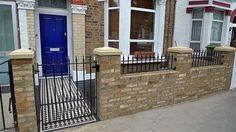 Yellow Stock Brick London Garden Wall