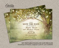 Rustic Woodland Wedding Invitation With String Lights . Rustic Woodland Wedding Invitation With String Lights Backyard Wedding Invitations, Woodland Wedding Invitations, Engagement Party Invitations, Rustic Invitations, Printable Wedding Invitations, Invitation Templates, Email Invites, Birthday Invitations, Event Invitations