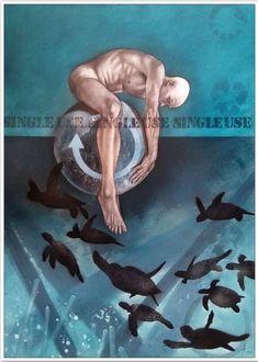 Adrian Owen | Geophysiology III | Buy original art online | StateoftheART Art Online, Online Art Gallery, Figure Painting, Original Art, African, Movie Posters, Internet Art, Film Poster, Billboard