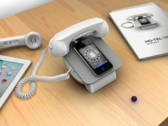 iRetroPhone Dock For Smartphones Brings Us Rotary Phone