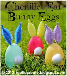 This would be cute..little bunnies all over the yard