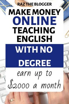 A degree is merely a certificate of paper. It doesn't show your proficiency or command of a language. One of the most straightforward languages to… Online Teaching Jobs, Online Jobs For Moms, Teaching English Online, Online Tutoring, Make Money Online, How To Make Money, English Language Course, Job Website, Legit Work From Home
