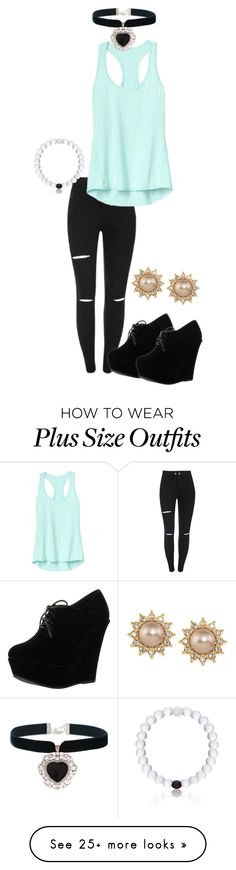 """""""Untitled #1184"""" by tashgodfrey on Polyvore featuring Athleta, Forever Link, Everest, Rock 'N Rose and Carolee"""