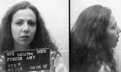 """A Pinner writes: """"Amy Fisher. A whore so stupid and skanky that she was willing to shoot another woman in the face just so she could continue sleeping with JOEY BUTTAFUCO. Yes, she willingly had sex with that horrid, horrid man. Major Events In History, Celebrity Deaths, People Of Interest, Sad Stories, The Headlines, Funny Mugs, True Crime, Mug Shots, Long Island"""