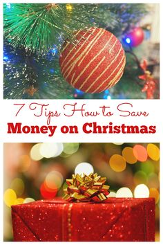 No one enjoys having credit card debt after the holidays from purchasing gifts. To help you save money for Christmas, check out these 7 tips how to save money now for Christmas. // Ways to save for Christmas // Save money for Christmas ideas // How to save for Christmas // Saving for Christmas // #savingforchristmas Inexpensive Christmas Gifts, Christmas Items, Christmas Bulbs, Christmas Decorations, Living On A Budget, Frugal Living Tips, Saving Ideas, Money Saving Tips, Money Now