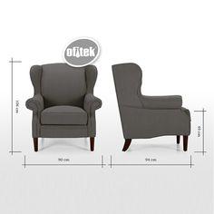 Medidas de sillones individuales buscar con google - Sillones individuales baratos ...