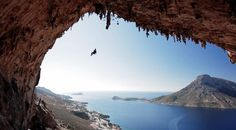Climbing .... KALYNNOS, Greece