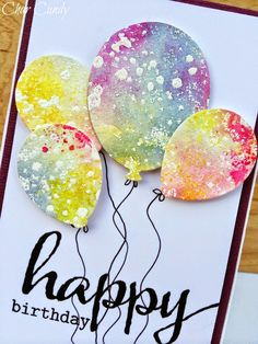 water color over embossing--I could do this with Gorgeous Grunge.