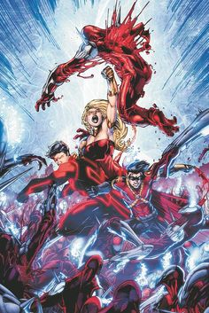 Teen Titans by Brett Booth