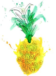 Pineapple Express by © Margaret Berg  www.margaretbergart.com