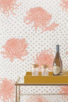 Coral KANOKO pattern by – Relativity Textiles #bringtheworldhome