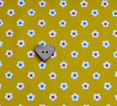 Japanese Daisy – Mustard £12.00 per metre