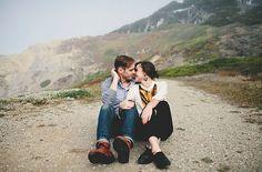 Cassy + John's Sutro Baths Engagement : Jamie Jones Photography