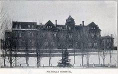 Circa 1910 ~ Nicholls Hospital Peterborough Ontario, Places Of Interest, Nursing, Canada, City, Building, Travel, Vintage, Viajes