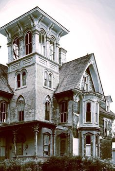 Stately in it's abandonment. Old Hickory Tavern in Coudersport, PA has been abandoned by its owner, and has been declared a public danger and nuisance. Please don't let them tear it down!