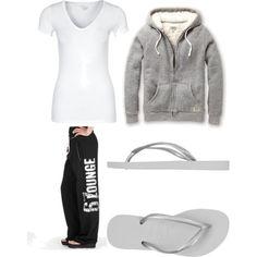 """Lounge Outfit"" by elizabeth-bonebrake on Polyvore"