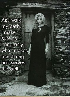 As I walk my path