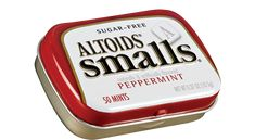 """Altoids Mints Smalls  Peppermint Sugar Free ( Box of 9 Cans Each Can 50 Pieces Total 450 Pieces ) $11.99 """"FREE SHIPPING"""" at www.JGUM.NET"""