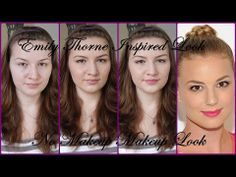 Get the Look:  Emily Thorne / VanCamp Inspired - No Makeup Makeup Look Tutorial