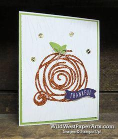 Pumpkin Swirl for Pals Blog Hop at WildWestPaperArts.com