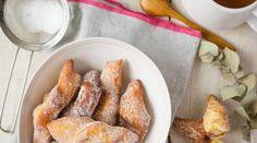 Bugnes moelleuses de mon enfance Mardi Gras, Mets, Beignets, French Toast, Gluten, Apple, Burgers, Breakfast, Biscuits