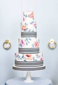 The 50 Most Beautiful Wedding Cakes | Wedding Ideas | Brides.com | Wedding Ideas | Brides.com